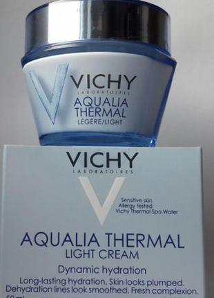 Vichy aqualia глубокое увлажнение комбинированной/нормальной кожи, 50 мл, франция