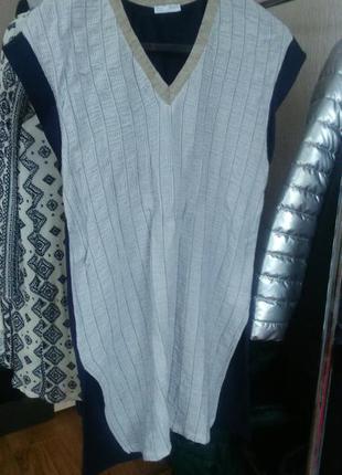 Удлиненная футболка,платье zara