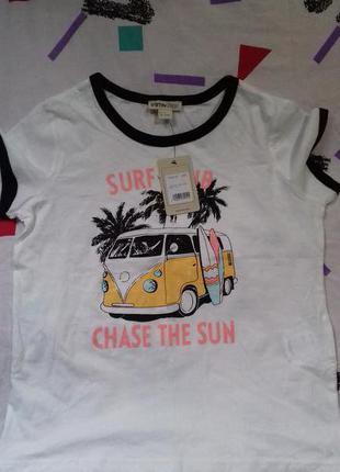 Новенькая милейшая футболочка для любителей винтажного американского стиля от ostin