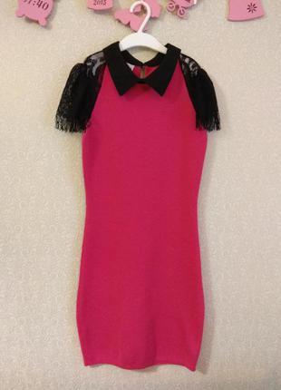 Шикарное платье red valentino
