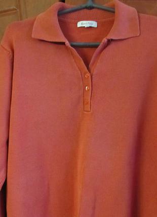 Классический свитер с воротником