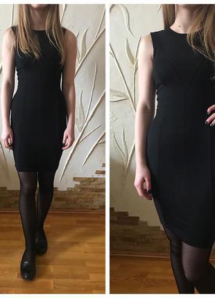 Платье в обтяжку с молнией сзади
