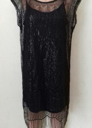 Новое ажурное платье george