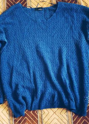 Синий легкий свитерок