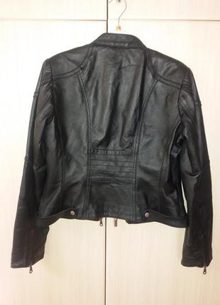 Курточка next натуральная кожа
