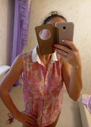 Легкая летняя блуза tally weijl