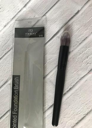 Malva кисть для макияжа m-309 №16 deluxe foundation brush (для жидкой основы, средняя)