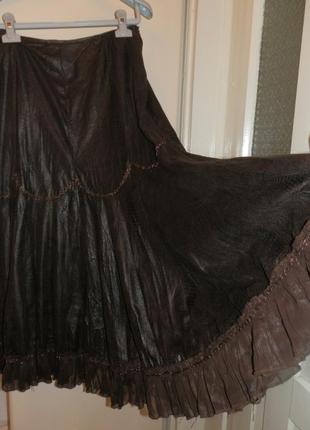 юбка макси узкая
