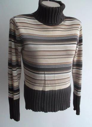 Качественный свитер в полоску esprit