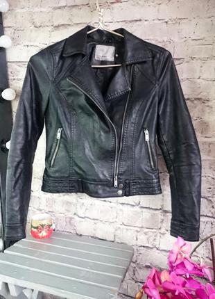 Куртка косуха vero moda. экокожа люкс качества.