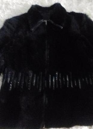 Куртка меховая из мутона