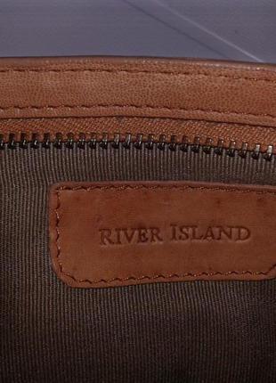 River island кожаная сумка- кошелёк.3