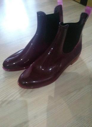 Стильные силиконовые ботинки челси2 фото