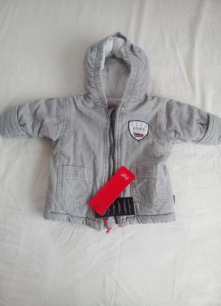 Весенняя куртка для малыша 3-6мес