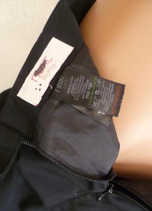 Юбка расклешенная к низу, черная next 🌻5 фото
