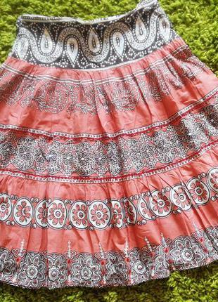 Женская длинная юбка 10 размер