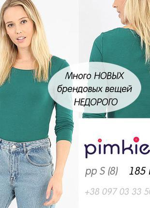 Яркий лонгслив футболка с рукавами кофточка реглан хлопок pimkie оригинал