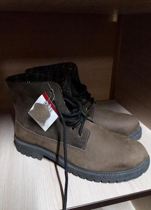 Ботинки livergy кожа 42 германия