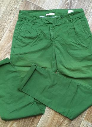 Изумрудные/зеленые штаны/летние брюки/чинос