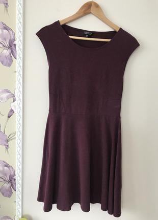 Плаття topshop кольору марсала