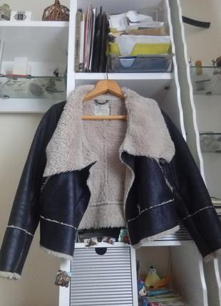 Дубленка new look пальто