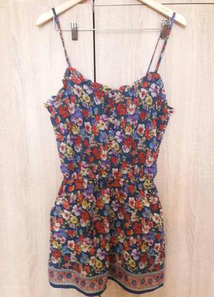 Сарафан , короткое летнее легкое платье