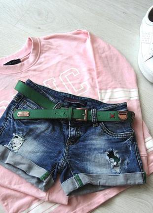 Крутые джинсовые шортики