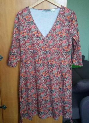 Платье с запахом (бесплатная доставка нп)