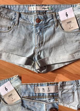 Джинсовые шорты размер с