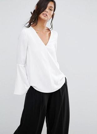 Сорочка-блуза рукав клеш