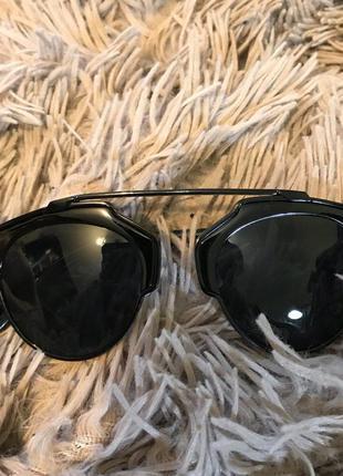 Модные стильные солнцезащитные очки черные распродажа!