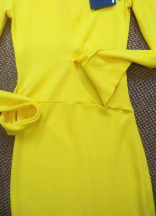 Шикарное, яркое  миди платье!!