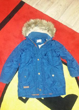 Куртка деми, парка h&m 4-5 лет