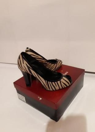 Туфли с открытым носком zara