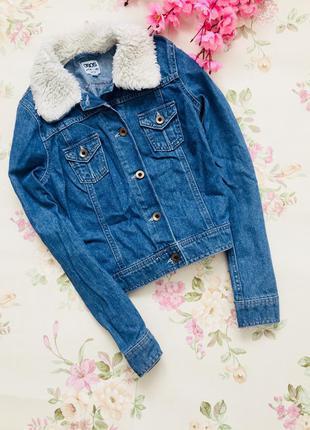 Джинсовая куртка / джинсовка asos petite