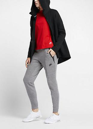 Толстовка/худи/куртка/ветровка женская nike sportswear tech fleece, s, m, l, xl