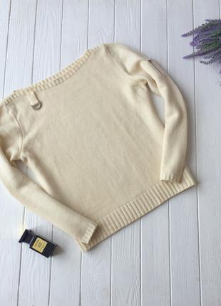 Молочный свитер united colors of benetton