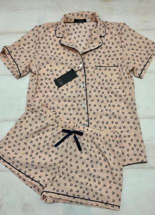 Комплект для дома рубашка шортики