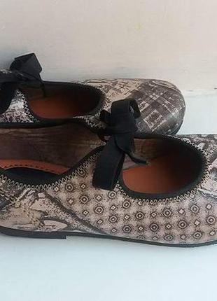 Новые кожаные туфли, kickers, 32р, 20 см