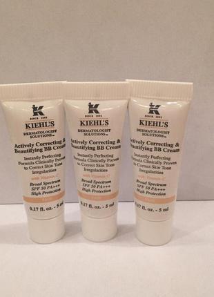 Kiehl's «bb» крем spf 50 actively correcting & beautifying bb cream