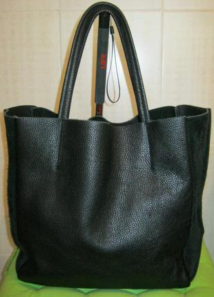 Poolparty city bag нат. кожа.большая сумка шоппер. доступно!