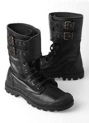 Размер 36 стелька 23см кожаные ботинки оригинал