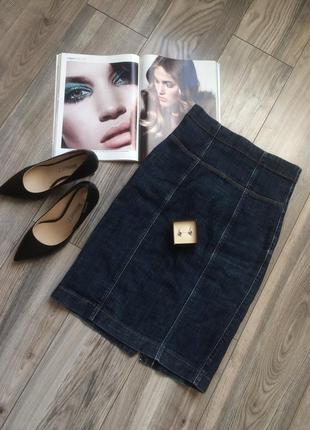 Актуальная джинсовая юбка миди с завышенной талией💕