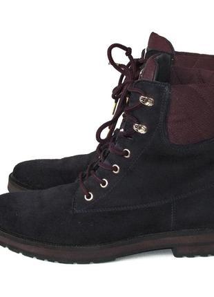 Мегакрутые ботинки tommy hilfiger, сша, натуральная кожа