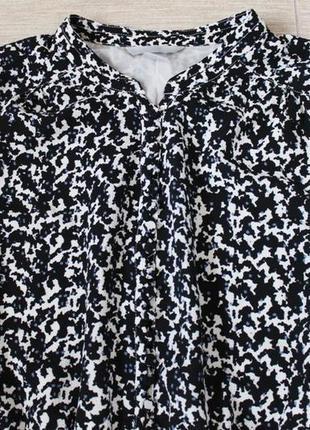 H&m платье миди в принт размер l