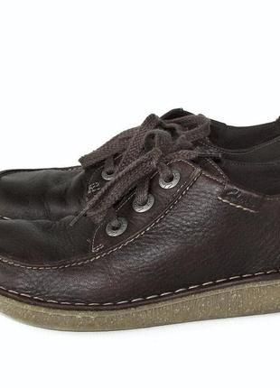 Крутые туфли clarks funny dream, натуральная кожа