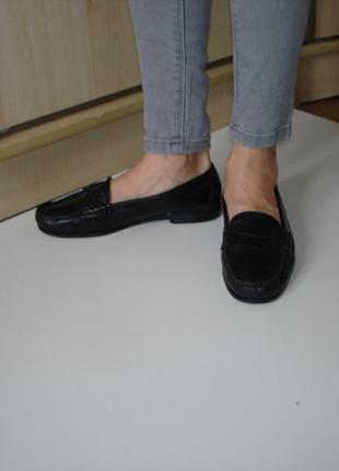 Туфли лоферы кожа италия