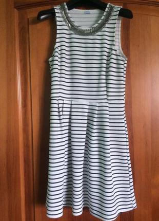 Платье полосатое befree