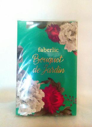 Парфюмерная вода bouquet de jardin faberlic буке де жардан фаберлик