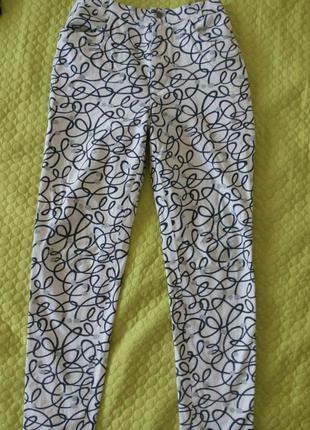 Стрэйчевые брюки